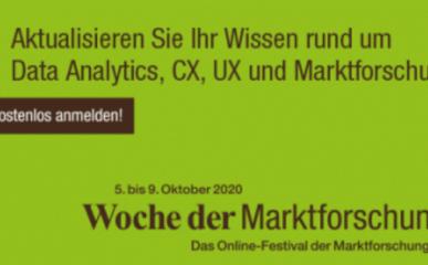 Woche der marktforschung 2020